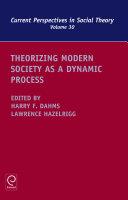Theorizing Modern Society as a Dynamic Process Pdf/ePub eBook