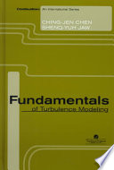 Fundamentals Of Turbulence Modelling