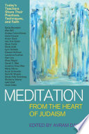Meditation from the Heart of Judaism Book