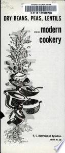 Dry Beans  Peas  Lentils Book