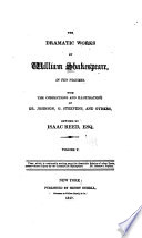 The Dramatic Works Of William Shakespeare King John King Richard Ii King Henry Iv Part 1 King Henry Iv Part 2