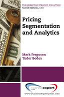 Pricing: Segmentation and Analytics