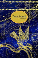Tarot Journal Notebook  A 6 X 9 Inch Matte Softcover Paperback Notebook Journal with 120 Blank Lined Pages