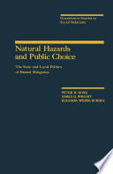 Natural Hazards And Public Choice