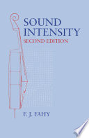 Sound Intensity Book PDF