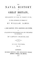 The Naval History of Great Britain, from the Declaration of War by France in 1793, to the Accession of George IV. ebook