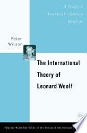 The International Theory of Leonard Woolf