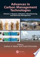 Advances in Carbon Management Technologies
