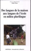 Pdf Des langues de la maison aux langues de l'école en milieu plurilingue Telecharger