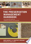 The Preservation Management Handbook Book