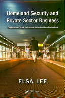 Homeland Security and Private Sector Business Book