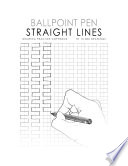 Ballpoint Pen STRAIGHT LINES Drawing Practice Copybook Book