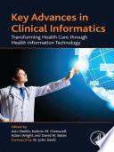 Key Advances in Clinical Informatics Book