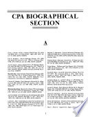 The National directory of certified public accountants