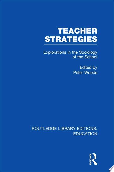 Teacher Strategies  RLE Edu L