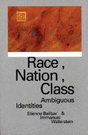 Race, Nation, Class