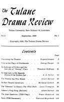The Tulane Drama Review