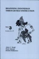 Beginning Indonesian Through Self Instruction