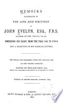 Memoirs of John Evelyn ...