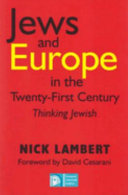 Jews and Europe in the Twenty first Century