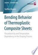 Bending Behavior of Thermoplastic Composite Sheets