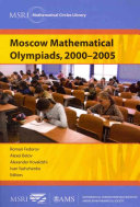 Moscow Mathematical Olympiads  2000 2005
