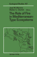 The Role of Fire in Mediterranean-Type Ecosystems Pdf/ePub eBook