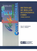 Dictionary of Holland Occupational Codes