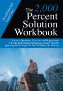 The 2 000 Percent Solution Workbook