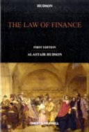 The Law of Finance