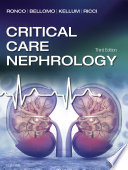 Critical Care Nephrology E Book