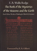 The Book of the Mysteries of the Heavens and the Earth