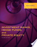 Investment Banks  Hedge Funds  and Private Equity Book