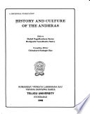 History and culture of the Andhras