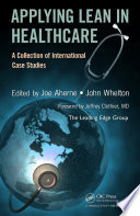 Applying Lean in Healthcare Book