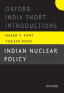 Pdf Indian Nuclear Policy Telecharger
