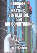Handbook of Heating  Ventilation  and Air Conditioning