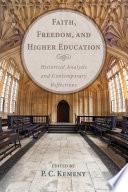 Faith Freedom And Higher Education