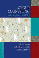 Group Counseling  Strategies and Skills Book
