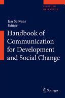 Handbook of Communication for Development and Social Change