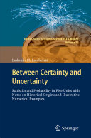 Between Certainty and Uncertainty [Pdf/ePub] eBook