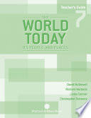 The World Today  Teacher s Guide