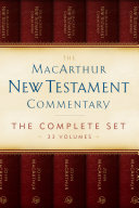 The MacArthur New Testament Commentary Set of 33 volumes Pdf/ePub eBook