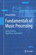 Fundamentals of Music Processing Book