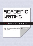 link to Academic writing : an introduction in the TCC library catalog