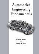 Automotive Engineering Fundamentals Book