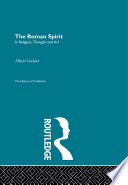 The Roman Spirit   In Religion  Thought and Art
