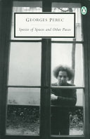 Species of Spaces and Other Pieces