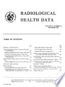 Radiological Health Data and Reports