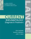 Current Rheumatology Diagnosis   Treatment